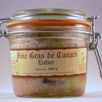 Foie Gras de canard entier 300 g