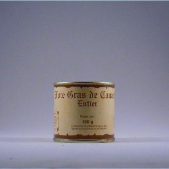 Foie Gras de canard entier 100 g